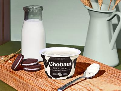 Milk and cookies (but not for Santa): New Chobani flavor to help farmers