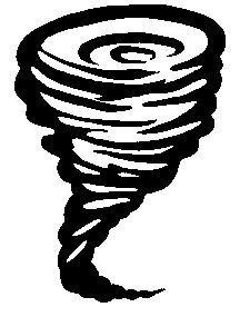 Twister Tornado Clip Art Weather service verifi...