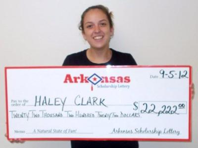 Fordyce woman wins lottery