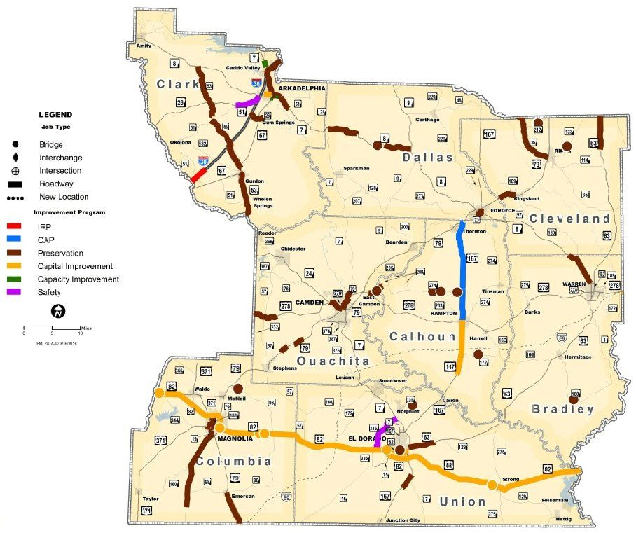 State highway plan calls for 51 million in new Columbia County work