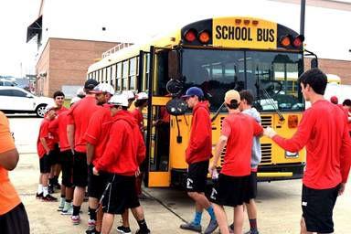 With Three Photos Magnolia High Baseball Team En Route To Class 5a