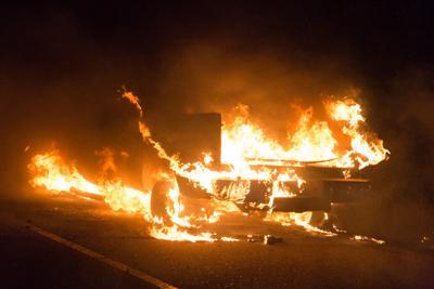 HempsteadHerald com : Stolen truck destroyed by fire in