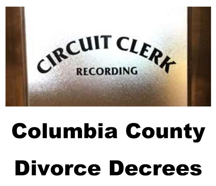 Divorce Records 2018: Columbia County Final Divorce Decrees Through Friday