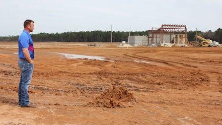 Muddy Bottoms under construction