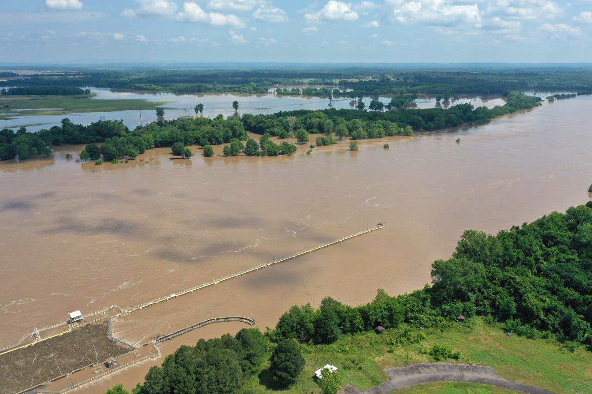 arkansas river flooding little rock