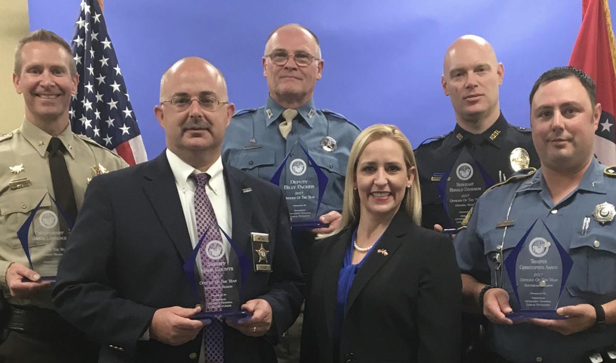 Annual ceremony honors Arkansas' top law enforcement