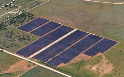 100 megawatt solar power farm will be built in Ashley County