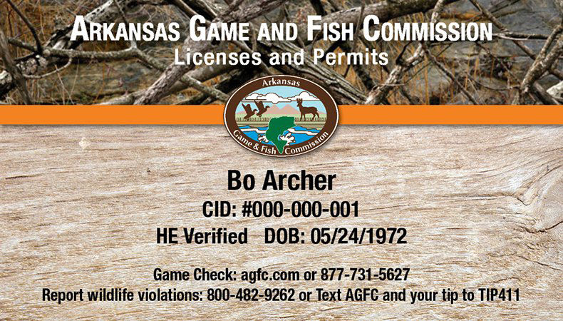 arkansas outdoorsmen may now obtain hard license
