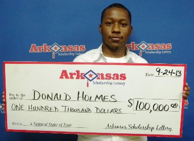 Camden man wins $100,000 from