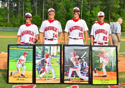 Magnolia Wins Doubleheader Secures Spot In Baseball Championship