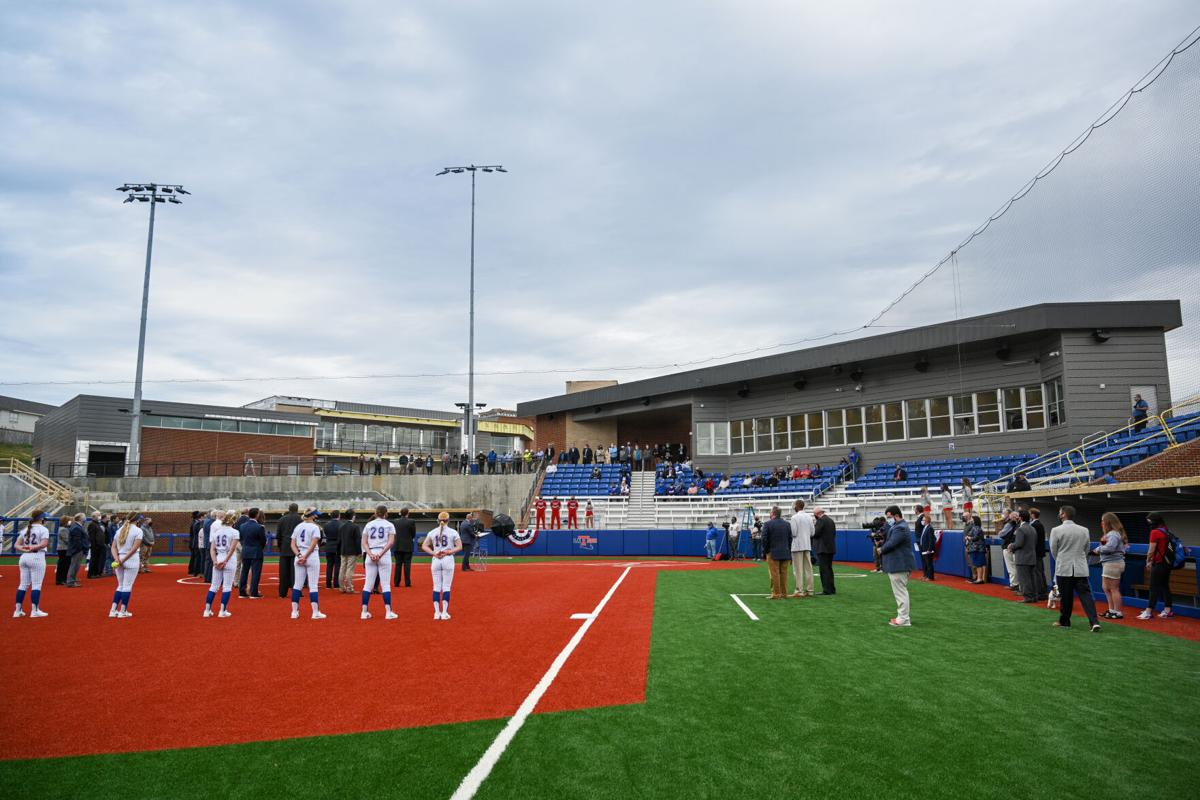 Softball Facility Ribbon Cutting Ceremony