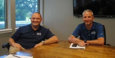 Slim Ens Founders Tom Gordon Left And Greg Smart In Their New 10 000 Square Foot Fayetteville Based Headquarters