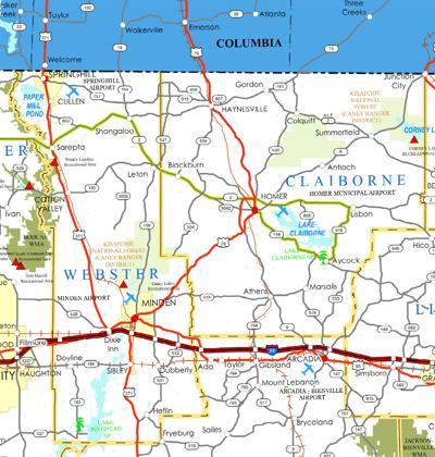 Claiborne parishes