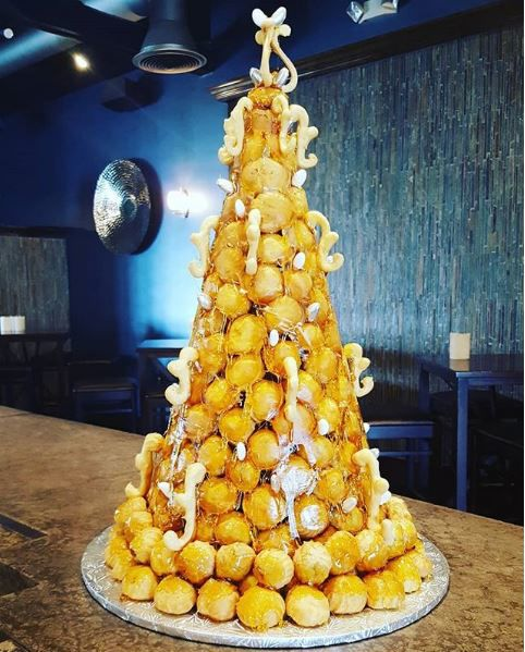 French Wedding Cake.Wayne Pastry Chef To Compete On Food Network Mainlinetimes