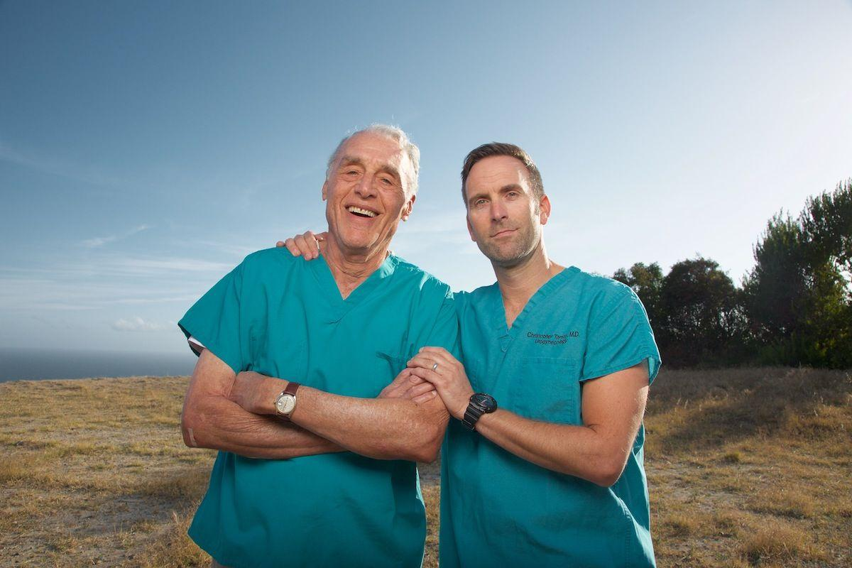 Drs. Lagasse and Tarnay