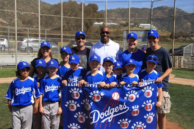 AAA Dodgers with Barry Bonds