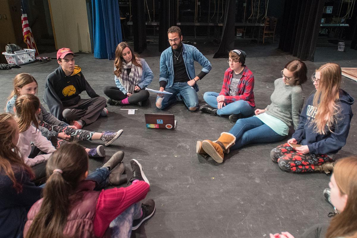 TICK     TICK     TALK: Riverfront Performing Arts play