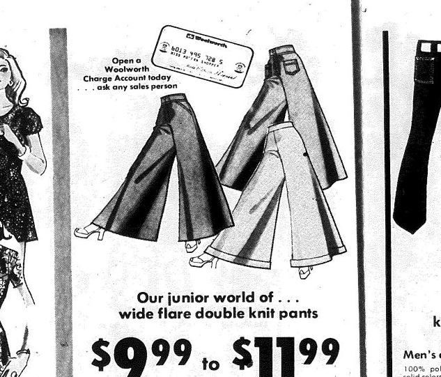 Woolworth ad from 1973