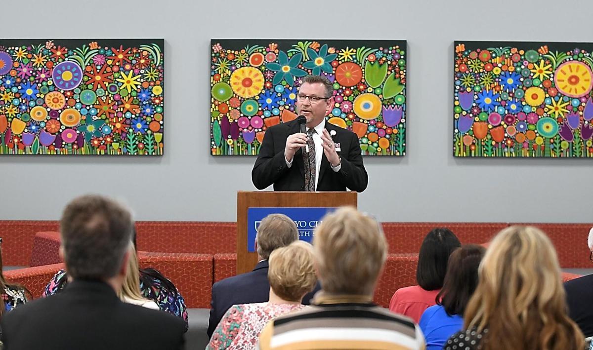 Mayo in Mankato showcases new children's center   Local News