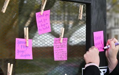 Chauvin verdict vigil 2