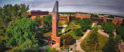 Aerial of MSU