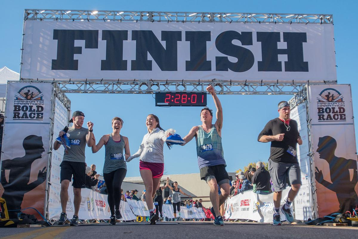 Mankato Half Marathon finish A1