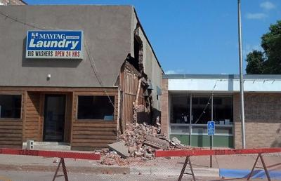 mfp Laundry wall collapse