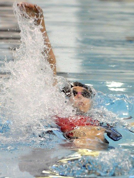 Nack Leads West At State Swim Meet