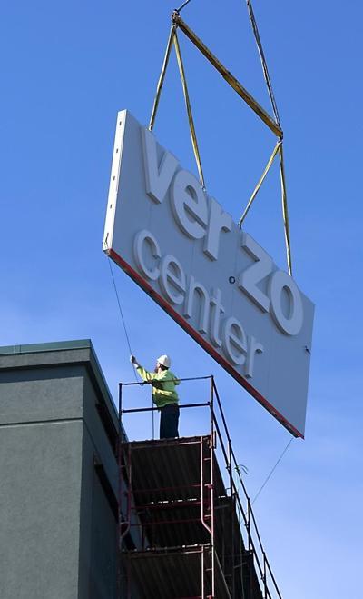 New Verizon Center sign (copy)