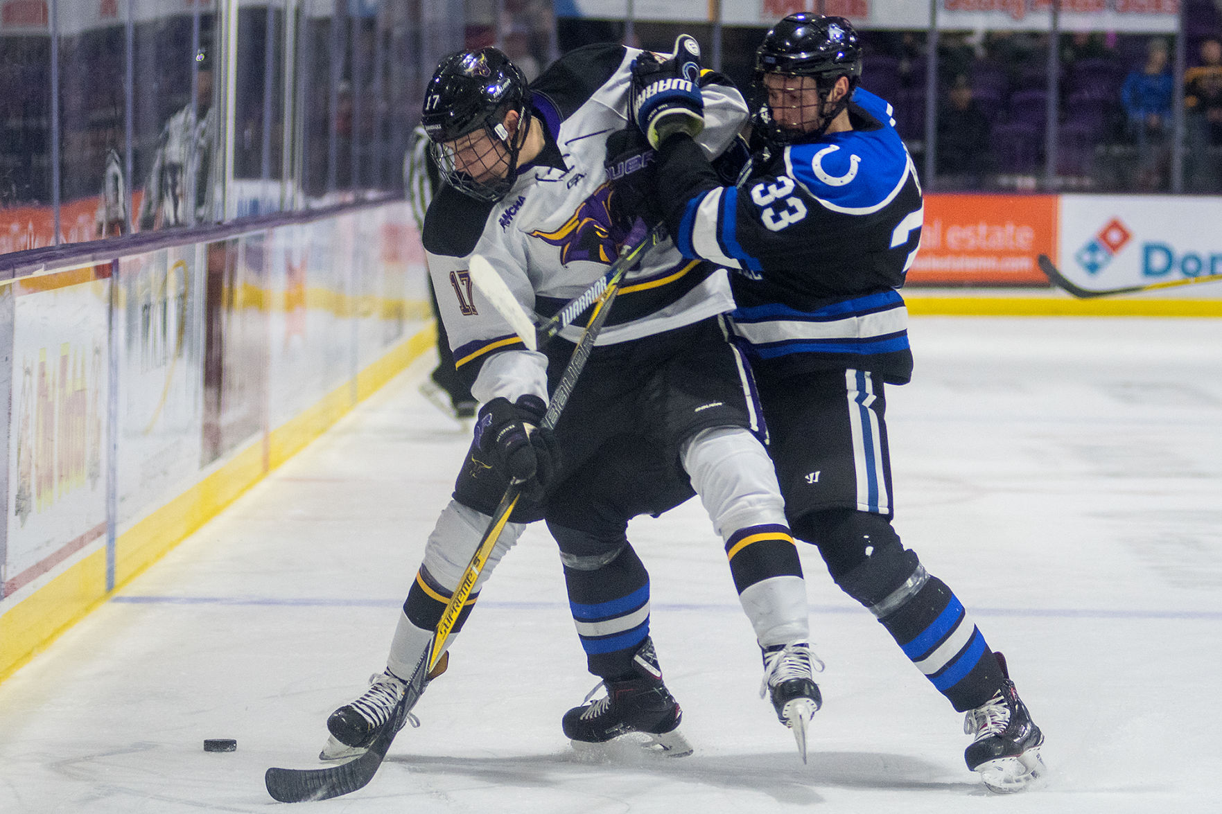 WCHA: Suess Scores Twice As Mavericks Finish Sweep Of Chargers