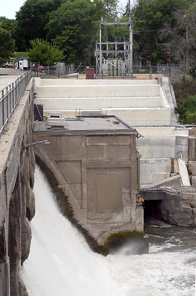 Rapidan Dam power