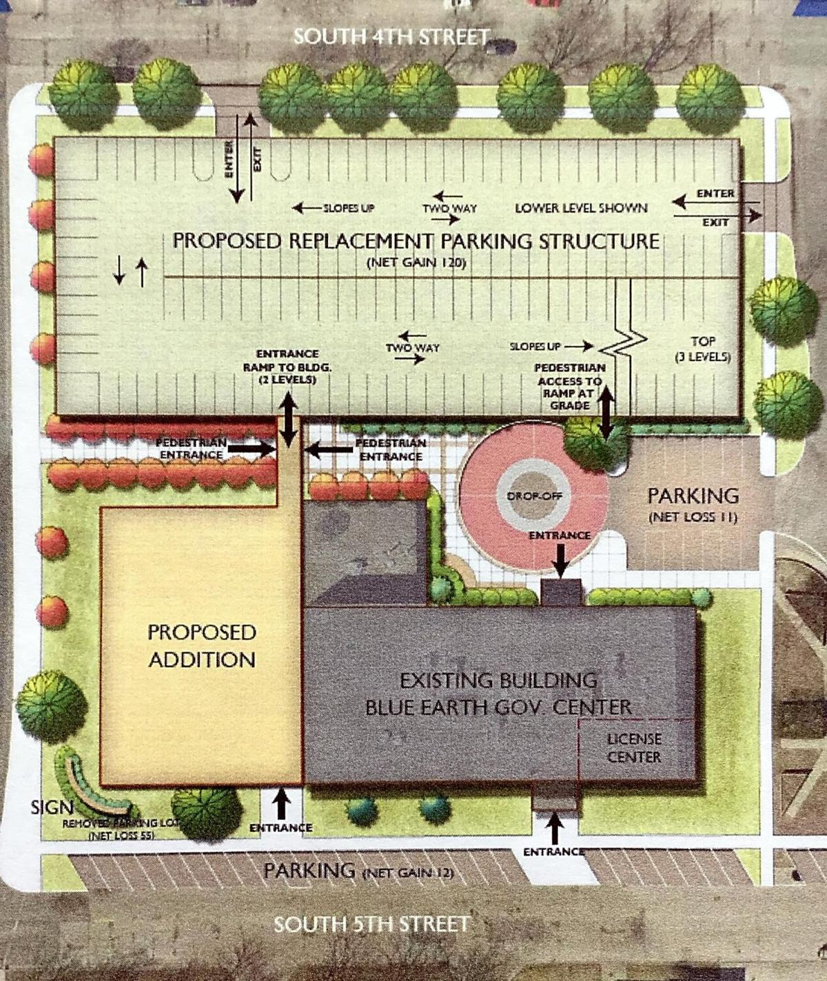 Blue Earth County moves ahead with new building | Local News ...
