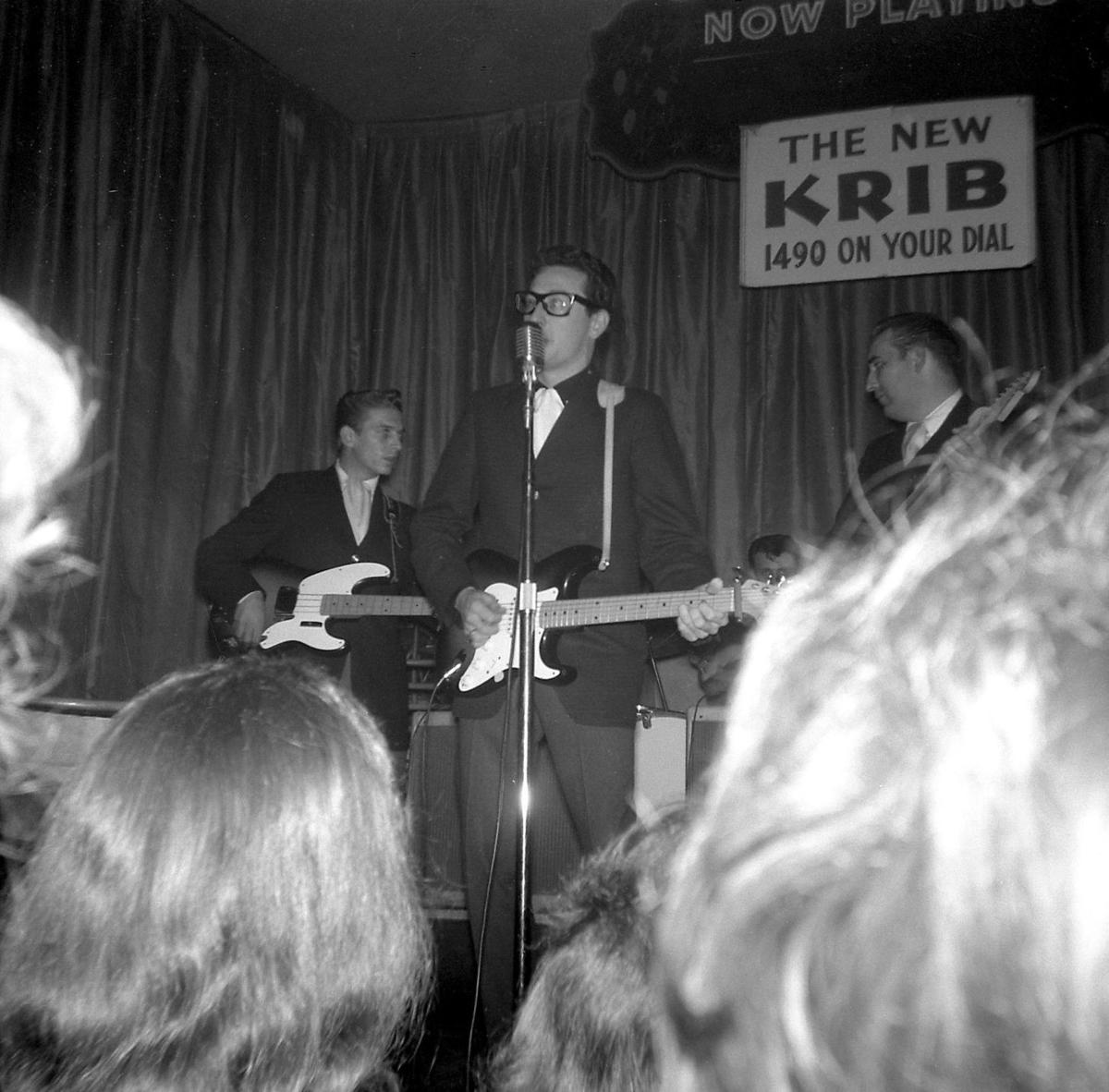 Image result for buddy holly performing at the surf ballroom