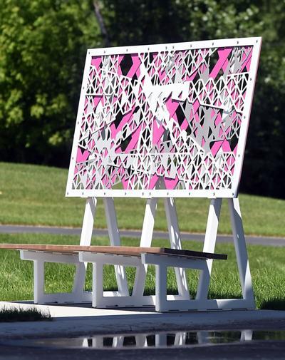 Riverfront Park bench