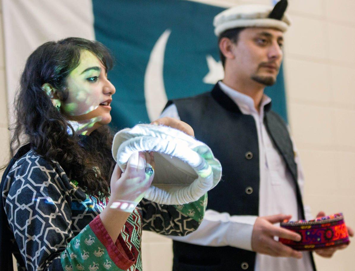 Girl Scouts see Pakistani hats