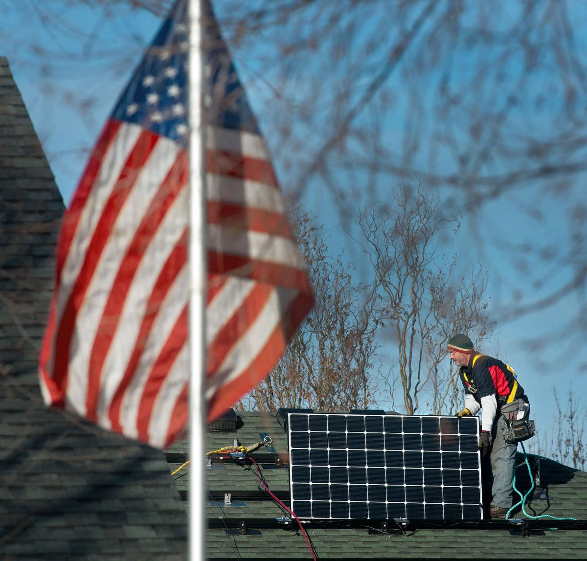 Mankato woman goes solar for her home