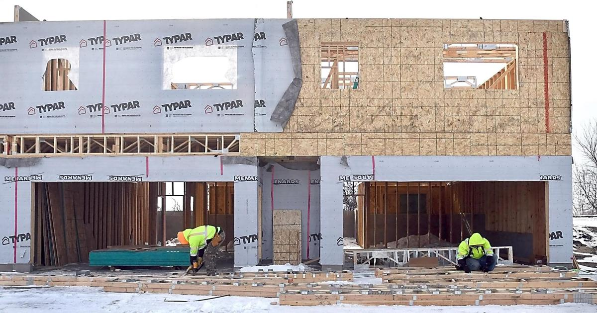 Townhome construction 1