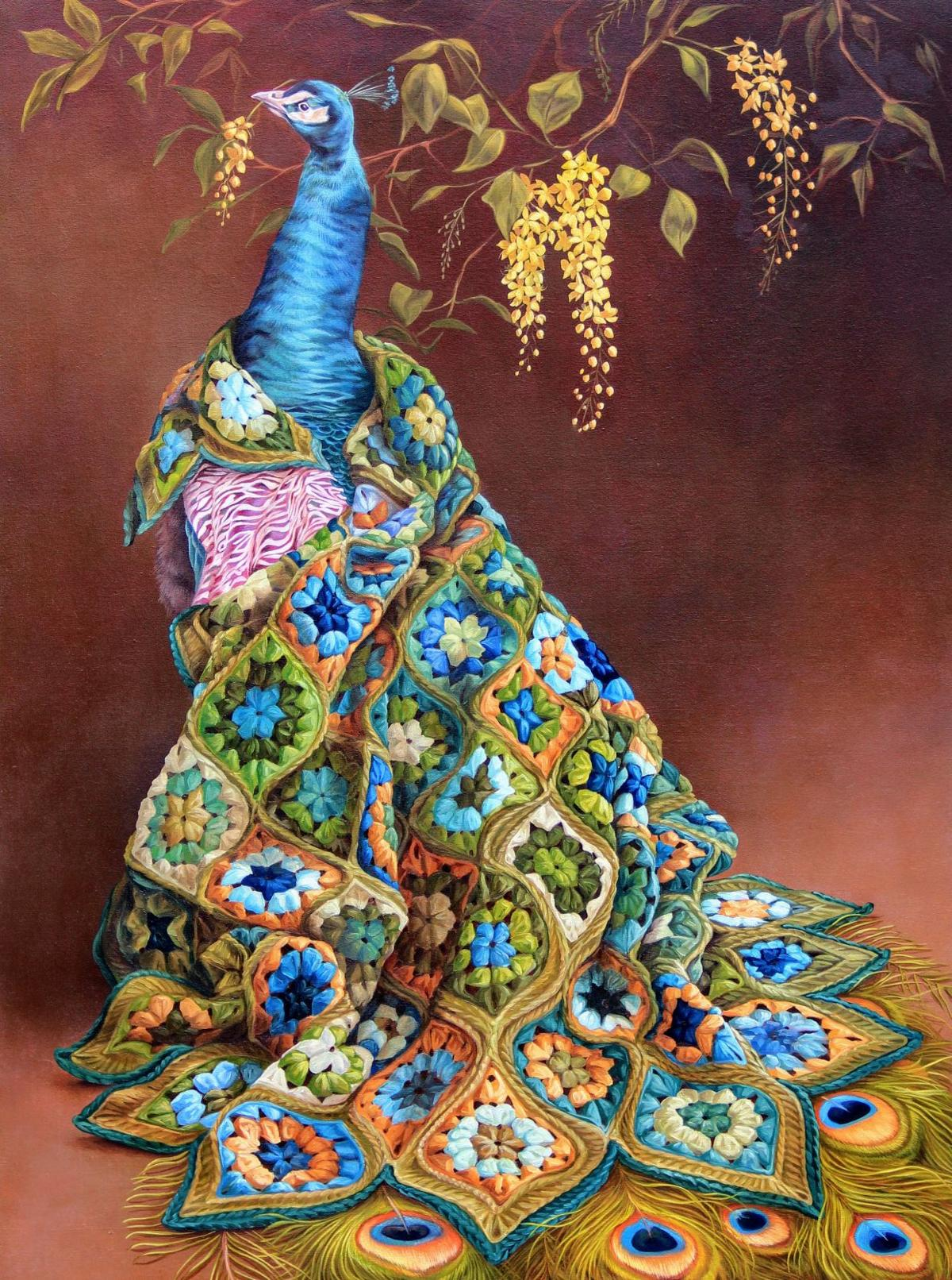 Malia Wiley's Peacock