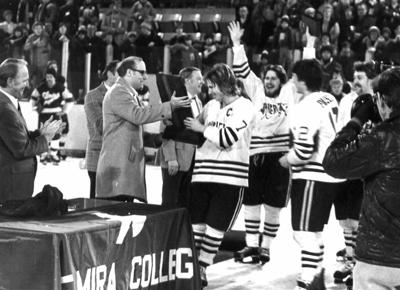 MSU men's hockey 1980 championship
