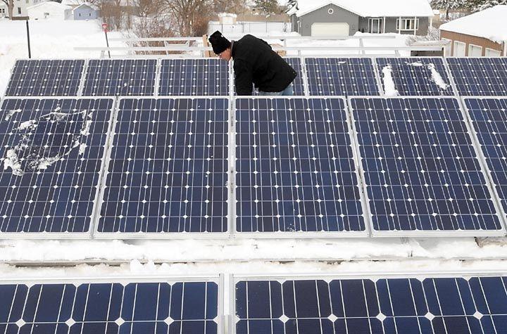 Bright Idea Auto Repair Shop Goes Solar Local News