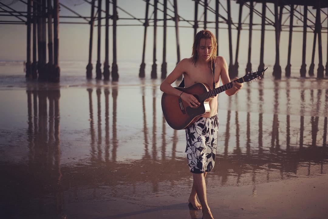 Tanner Peterson, beachside