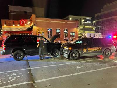 Downtown crash charges