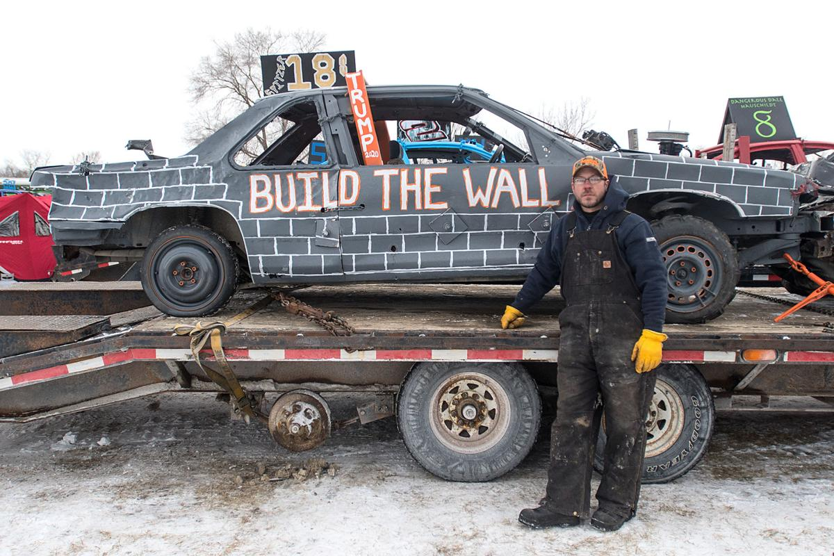 You Really Feel The Hits At Winter Demolition Derby Local News Mankatofreepress Com