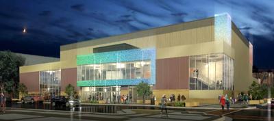 civic center rendering