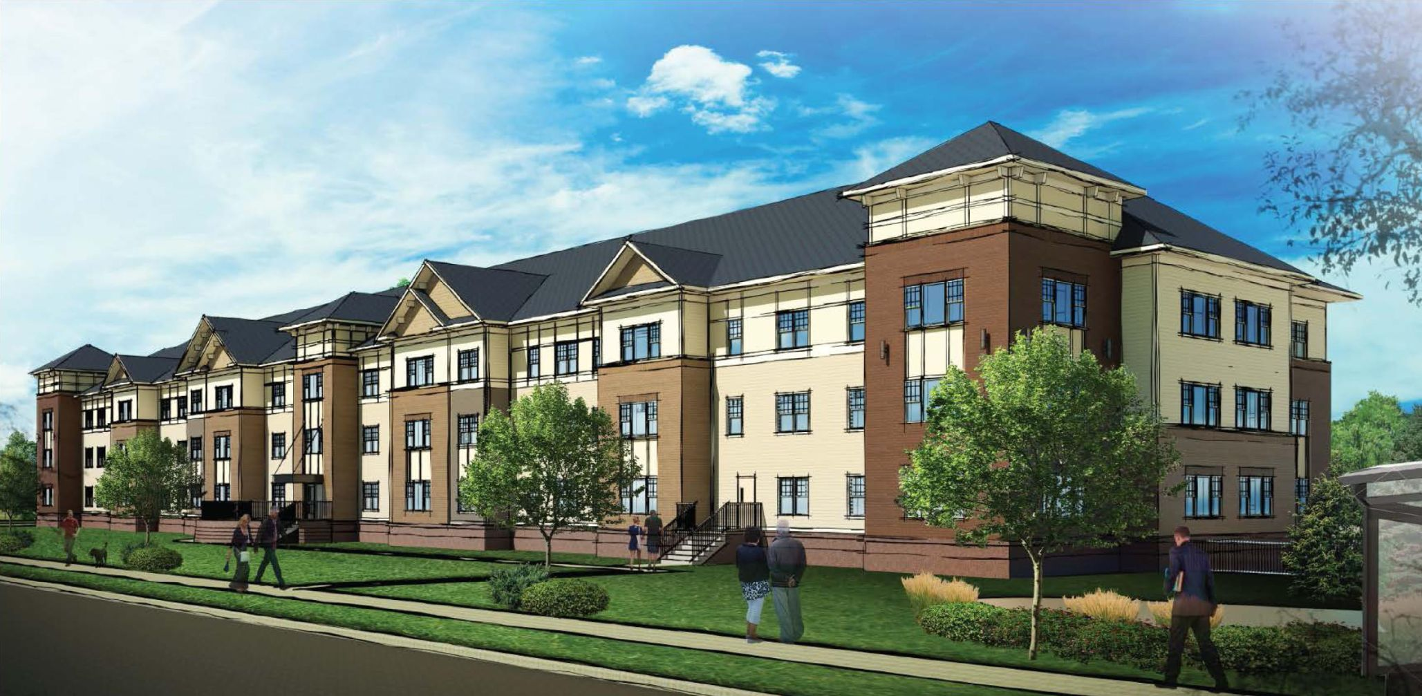 ... Units Set Aside For Lower Middle Class Workers And Formerly Homeless  Tenants, Is Set To Begin Construction This Summer North Of Madison East  Center.