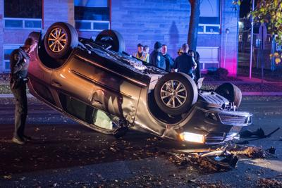 No injuries in SUV crash with parked truck | News