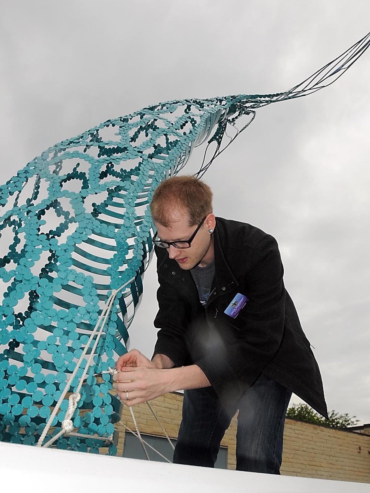 CityArt sculpture installation