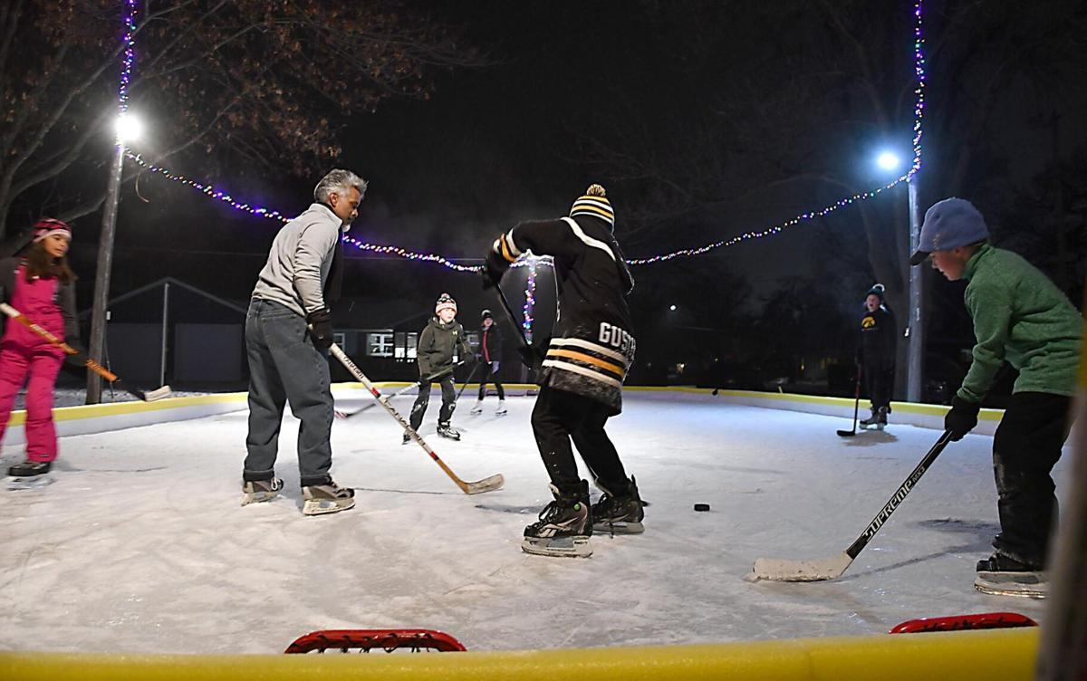 Dotson Park ice rink 2