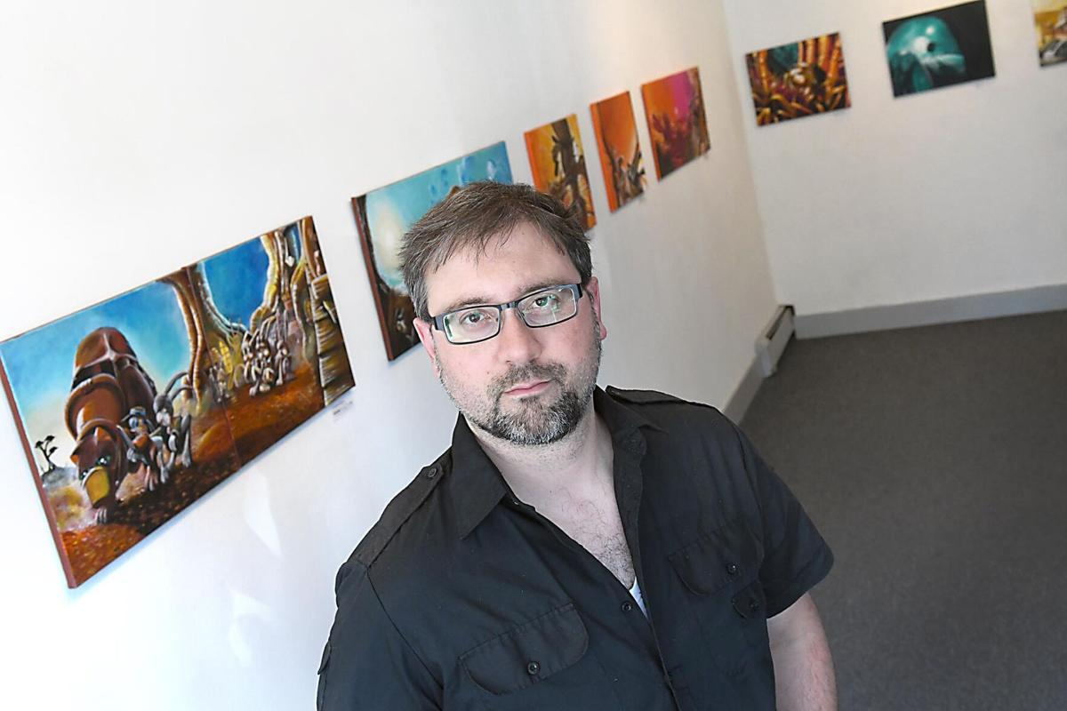 Artist James Mackey