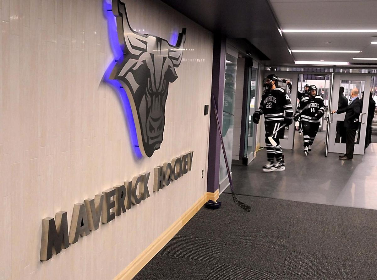 Minnesota State Mankato Hockey Locker Room